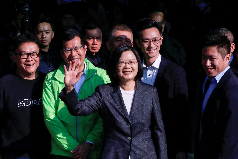 Presidente de Taiwan foi reeleita neste sábado, 11 de janeiro de 2020, para um segundo mandato.