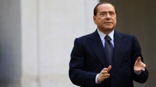 Silvio Berlusconi, le 17 novembre 2009.