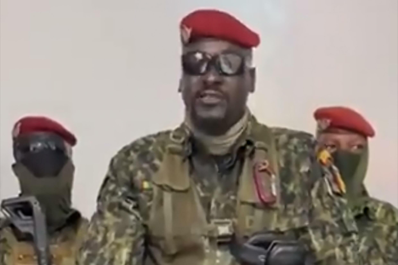 Kanar  Mamady Doumbouya, jagoran juyin mulkin Guinea.