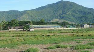 Vue de la prison d'Iwahig, sur l'ile de Palawan, aux Philippines.