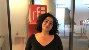 La romancière libanaise et française Dima Abdallah.