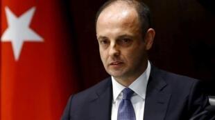 Murat Cetinkaya, gouverneur de la Bance centrale turque depuis 2016, a été démis de ses fonctions par le président Erdogan le 6 juillet 2019.