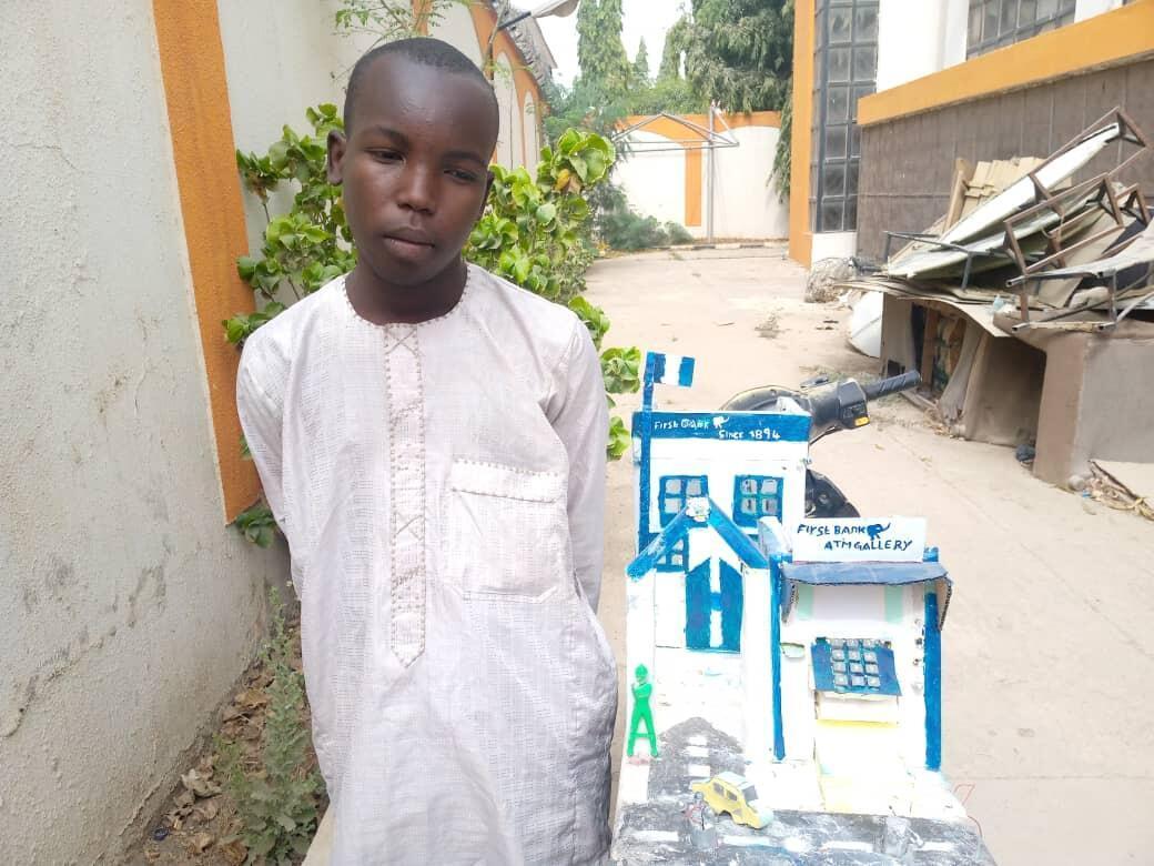 Bashir Salisu Umar da ya kera na'urar ATM a Kano