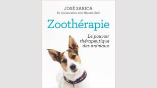 Couverture de l'ouvrage «Zoothérapie», de José Sarica paru chez Arthaud.