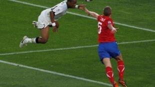 Andre Ayew a été l'un des hommes du match pour le Ghana, face à la Serbie.