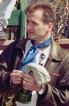 Le journaliste Georgui Gongadze en juillet 2000