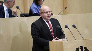 Глава ведомства федерального канцлера Германии Петер Альтмайер.