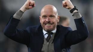 Mai horas da kungiyar Ajax Erik ten Hag bayan fitar da Juventus daga gasar Zakarun Turai.