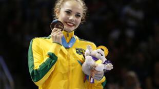 Angélica Kvieczynski conquistou a 100ª medalha brasileira do Pan