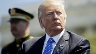 El presidente estadounidense Donald Trump habría compartido datos secretos con el canciller ruso Serguéi Lavrov.