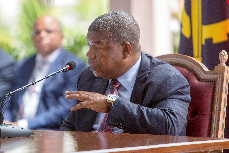 João Lourenço,Presidente da República  de Angolaq