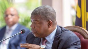 João Lourenço, chefe de Estado de Angola.