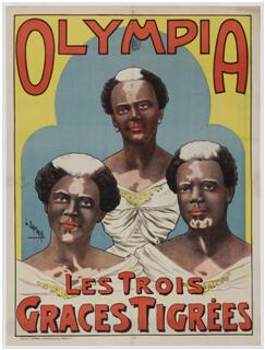 """""""Olympia. Les Trois Graces Tigrées"""", Paris"""