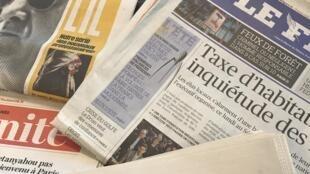 Primeiras páginas dos jornais franceses 17/07/2017