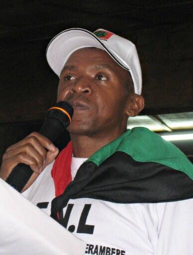 Bujumbura, le 29 novembre 2009. Agathon Rwasa est à l'époque candidat à la présidentielle. Il entre en clandestinité en juin 2010, cinq jours avant le scrutin..