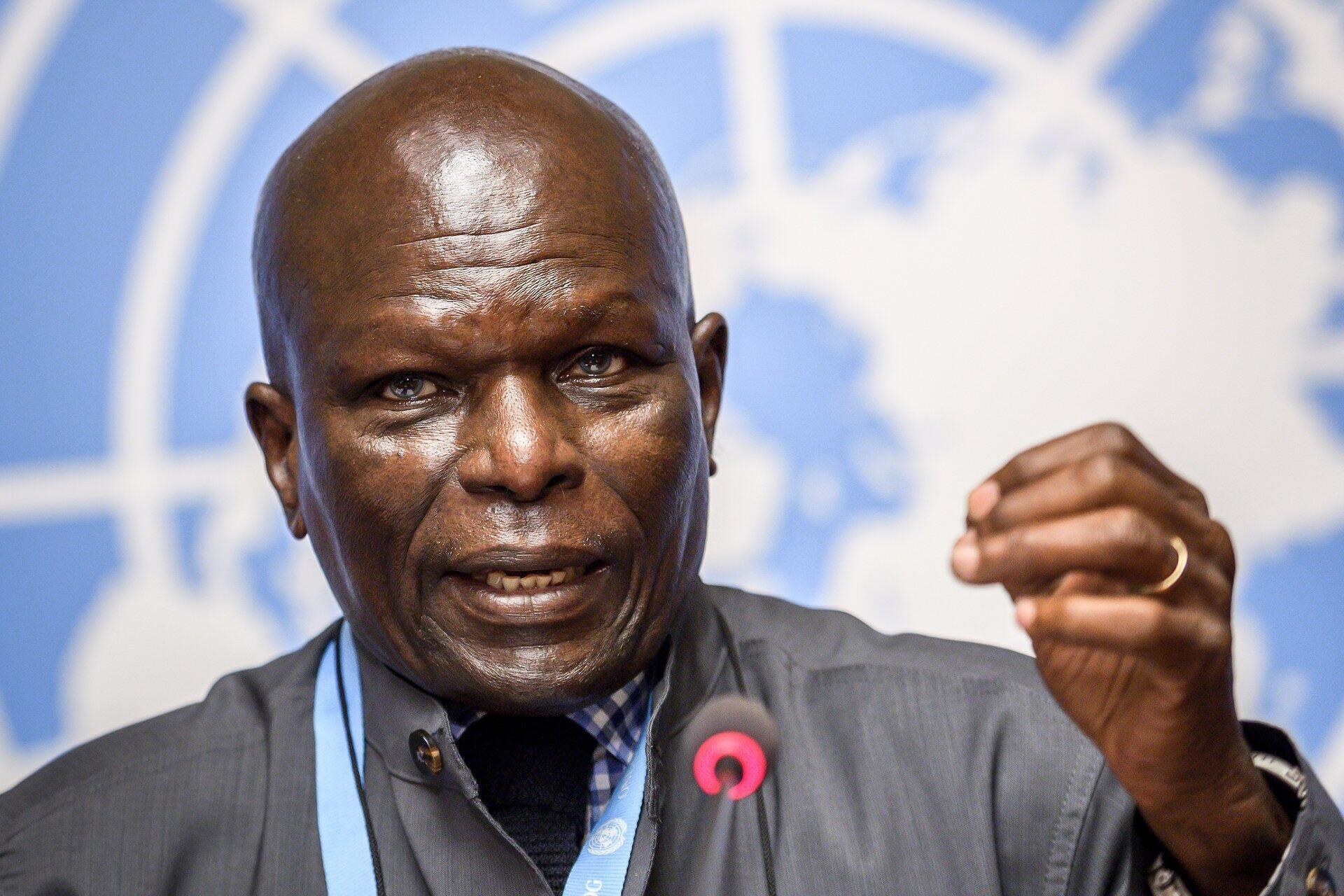 Doudou Diène, le président de la Commission d'enquête des Nations Unies sur le Burundi, appelle à la «vigilance» face au violations des droits de l'homme dans le pays.