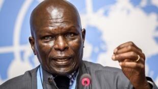 Doudou Diene, le président de la Commission d'enquête des Nations unies sur le Burundi, appelle à la «vigilance» face au violations des droits de l'homme dans le pays.