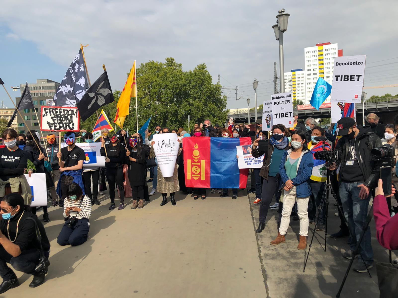 manifestation Berlin