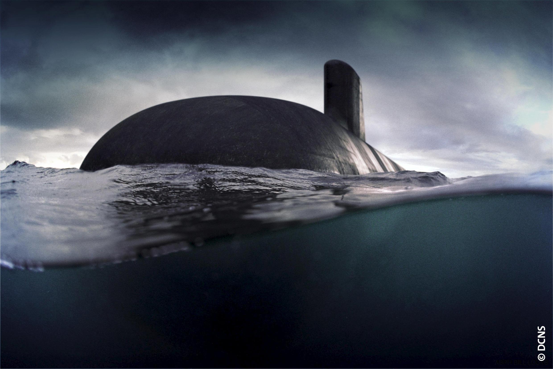 """Mẫu tầu ngầm """"Barracuda"""" của Pháp bán cho Úc."""