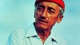 Le commandant Cousteau.