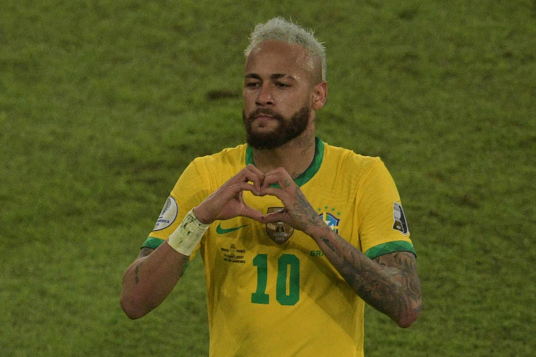Neymar, internacional brasileiro do Paris Saint-Germain.
