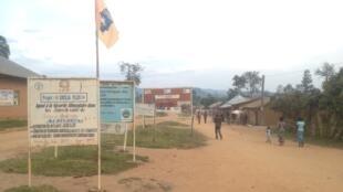 Principal axe de Luofu, localité située à moins d'une vingtaine de kilomètres de Luhanga où une trentaine de Hutus ont été massacrés.