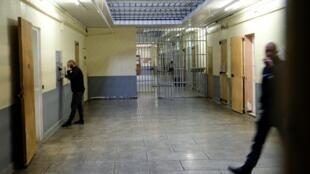 Bên trong nhà tù Les Baumettes ở Marseille, miền nam nước Pháp. Ảnh chụp tháng 11/2017.