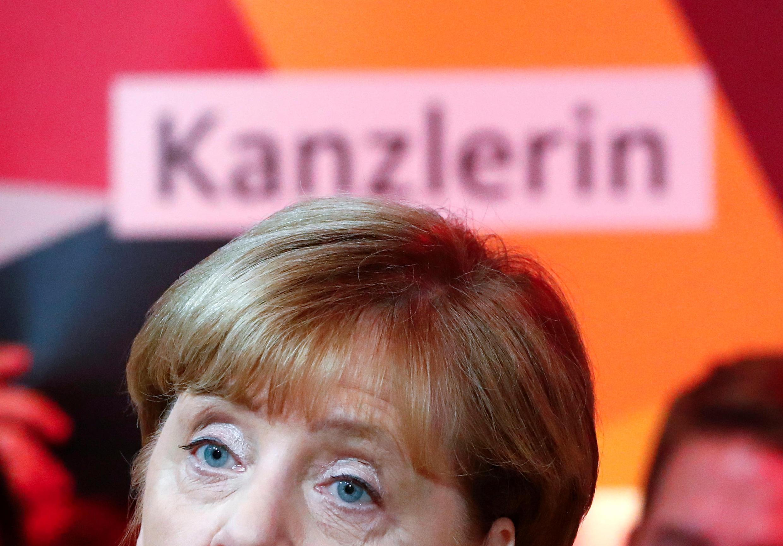 Ангела Меркель 23 сентября 2017 г.