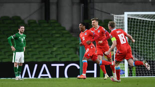 Gerson Rodrigues fired the only goal in Luxembourg's 2022 World Cup qualifier with Ireland