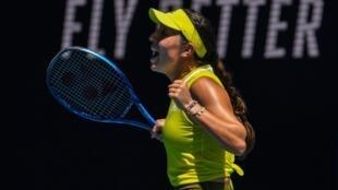 Jessica Pegula is into her first Grand Slam quarter-final
