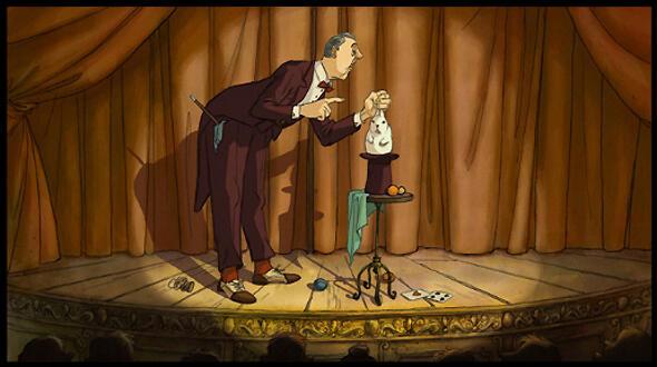 Татищев, главный герой мультфильма.