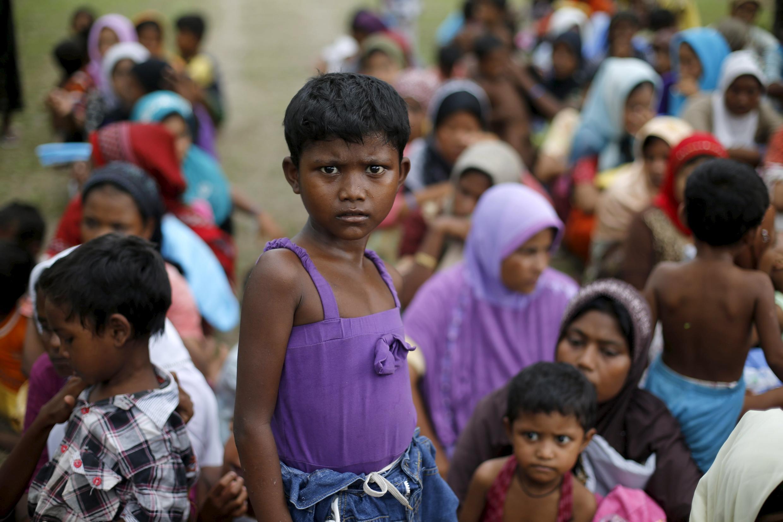 Minoria muçulmana rohingya é a principal vítima do drama.