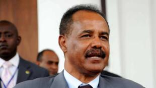 Le président erythréen, Issaias Aferworki, en août 2011.