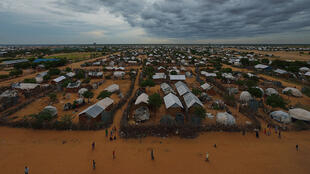 View of Dadaab refugee camp in Kenya, home to thousands of Somali refugees, 28 April 2015.