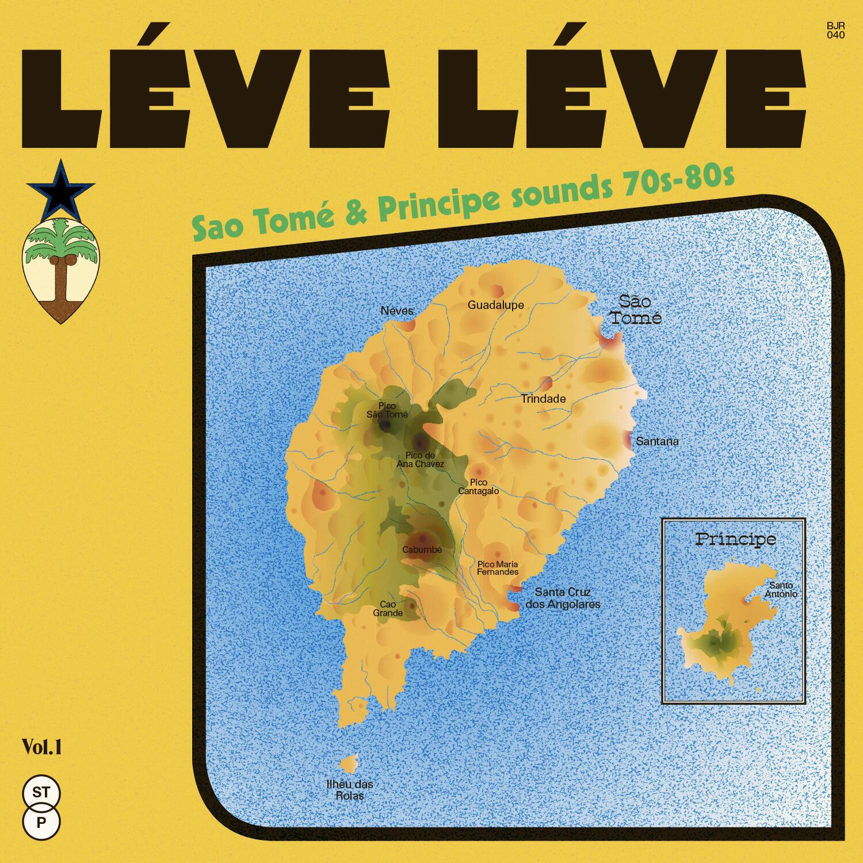 """Capa do disco """"Léve Léve"""" que vai ser lançado a 31 de Janeiro de 2020."""
