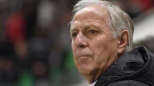 Le Français René Girard, nouvel entraîneur du Wydad Casablanca au Maroc.