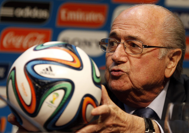 Joseph Blatter Shugaban hukumar kwallon duniya FIFA