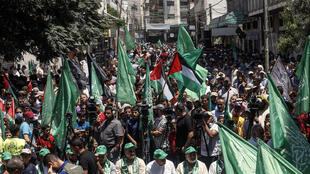 In recent weeks the Hamas-ruled Gaza Strip has seen almost daily protests against US President Donald Trump's Middle East peace plan which foresees Israeli annexation of its settlements in the occupied West Bank and the Jordan Valley