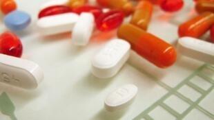 Médicaments contre la tuberculose.