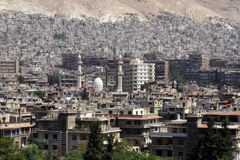 Một góc thủ đô Damas, Syria. (Ảnh minh họa)