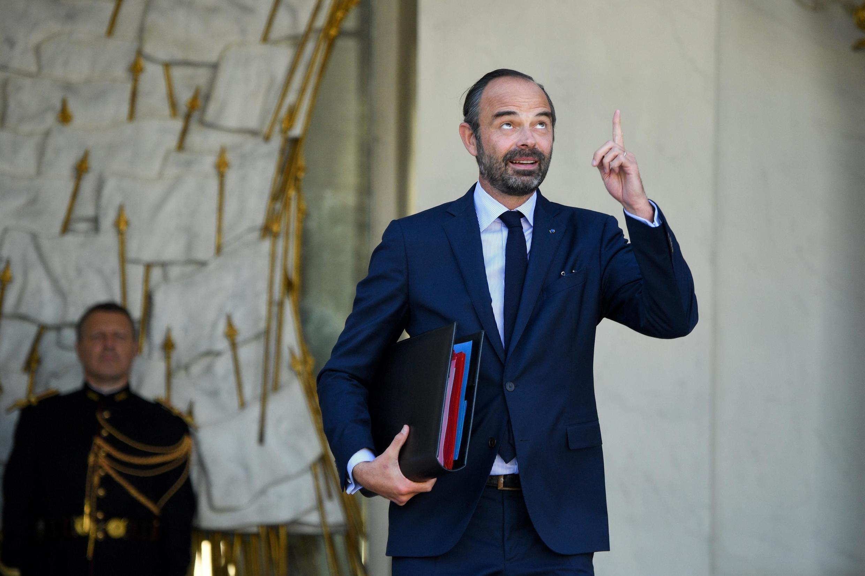 Le Premier ministre Edouard Philippe à la sortie de l'Elysée, le 10 octobre 2018.