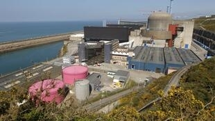 La centrale nucléaire de Flamanville, en Normandie.