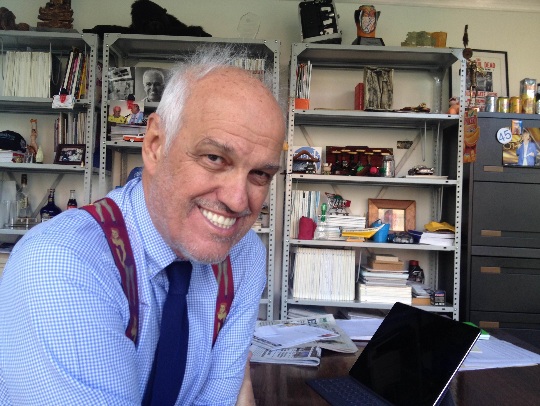 O publicitário paulistano Bobby Coimbra se diz esperançoso quanto ao futuro da Venezuela.