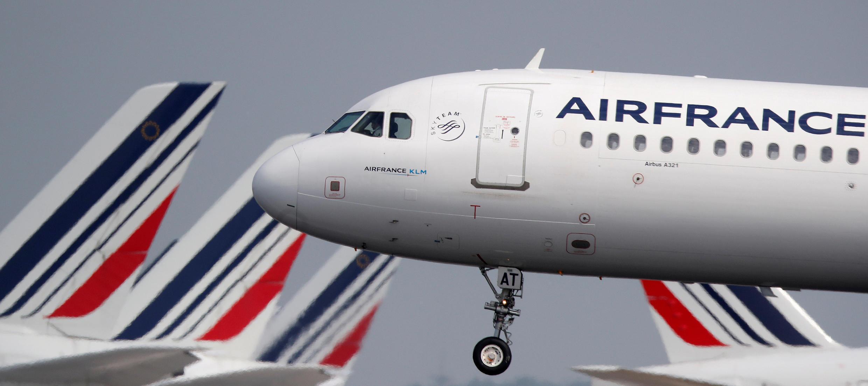 Un Airbus A321 à l'aéroport de Paris Charles de Gaulles.