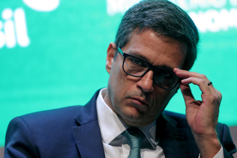 O presidente do Banco Central do Brasil, Roberto Campos Neto, participa do Fórum de Investimentos do Brasil em São Paulo em 11 de outubro de 2019.