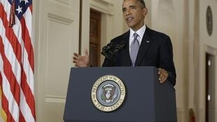 Tổng thống Mỹ Obama nói về Syria từ Nhà Trắng 10/09/2013