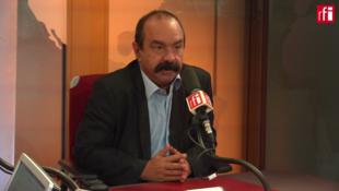 Philippe Martinez, secrétaire général de la CGT était l'invité du matin sur RFI le 31 aout 2018.