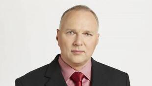 Jaroslaw Kurski, le rédacteur en chef de Gazeta Wyborcza. Le journal indépendant est la cible des attaques du pouvoir ultraconservateur polonais.