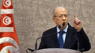 Le président tunisien, Beji Caïd Essebsi.