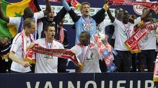 Lille se llevó la 94 edición de la Copa de Francia, este 14 de  mayo 2011.
